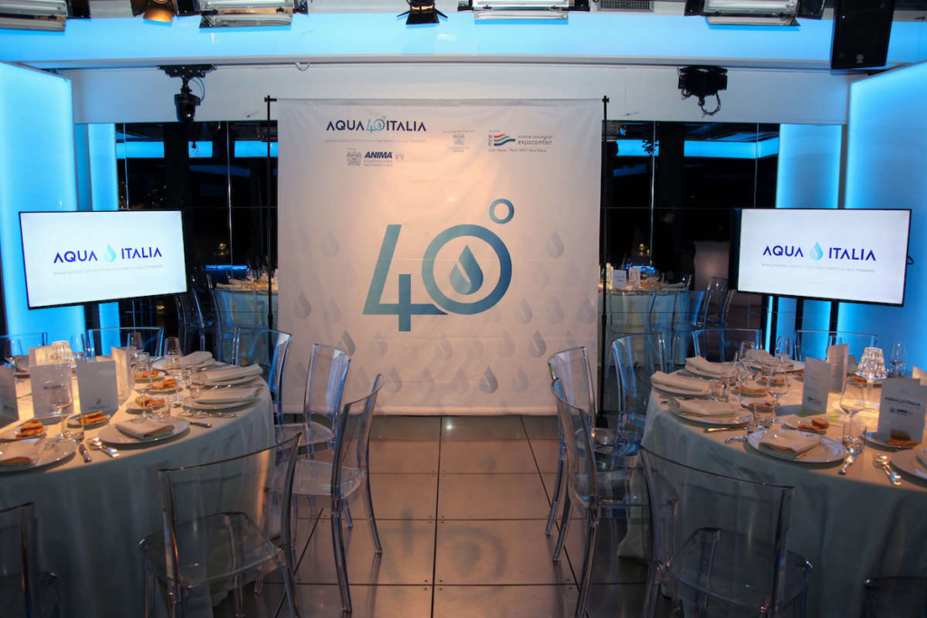 40th anniversary of Aqua Italia