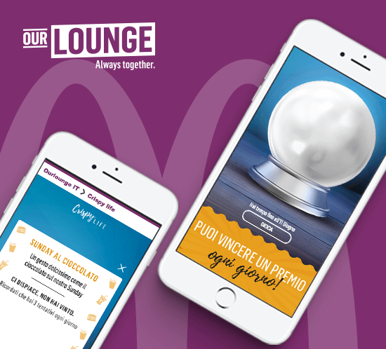 OurLounge: our partnership with McDonald's