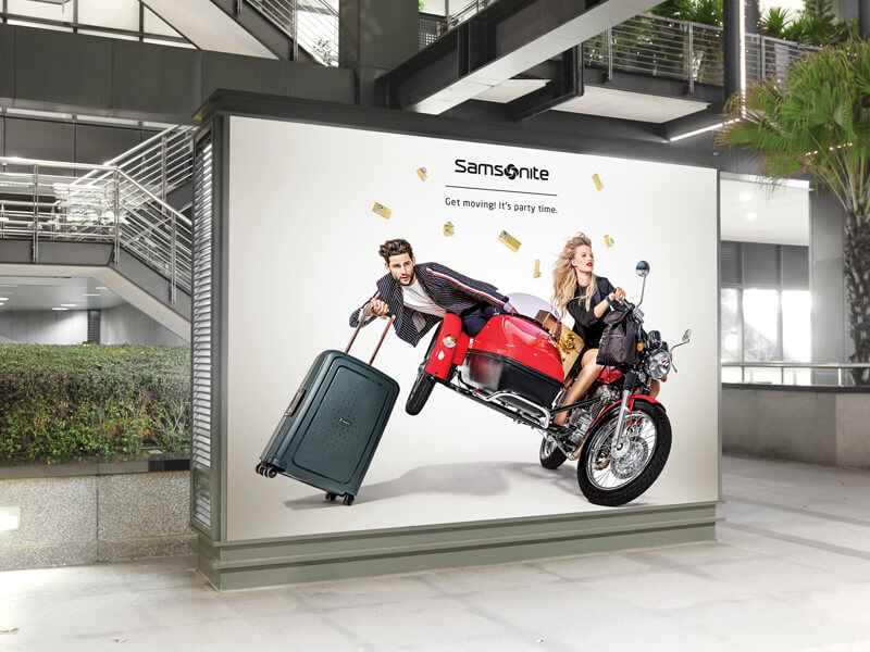 Samsonite Christmas Campaign