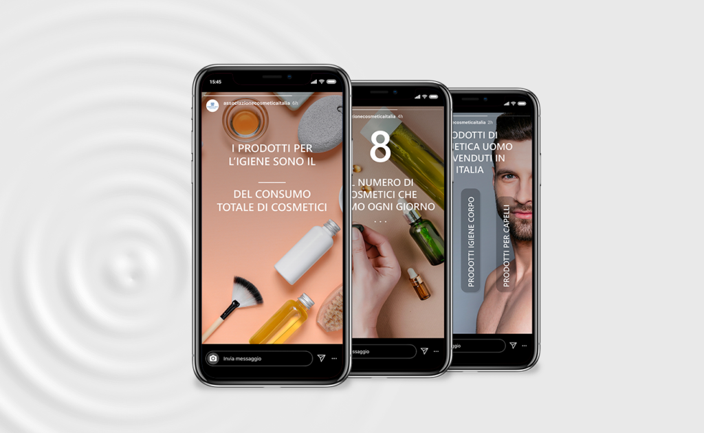 Istagram for Cosmetica Italia
